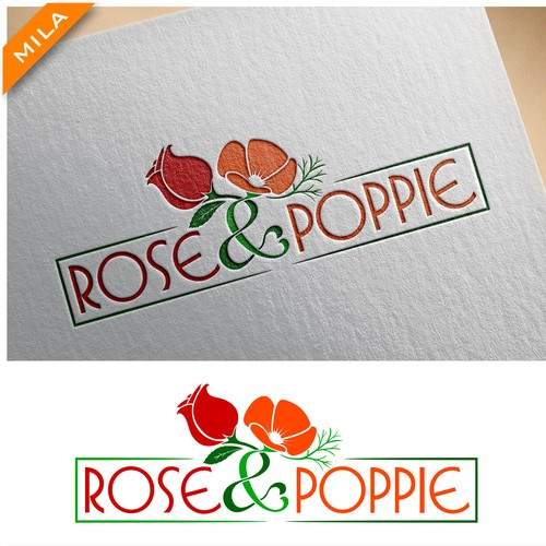 Logo Rose and Poppie