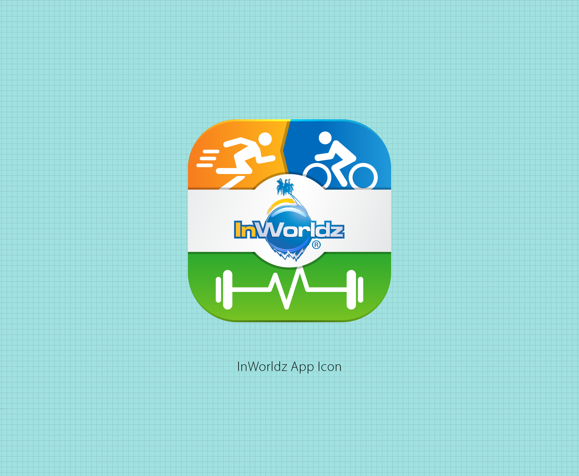 Create an iOS icon for virtual fitness app!
