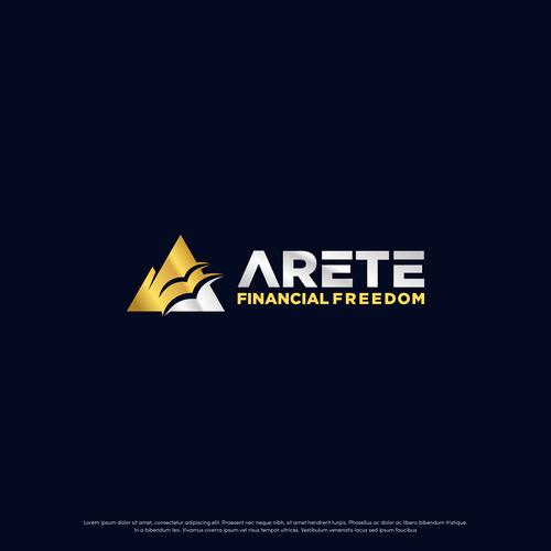 Unique logo for Arete Financial Freedom