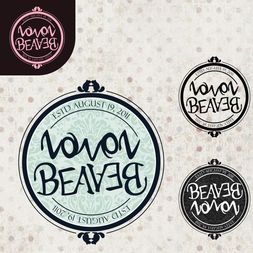 Logo for Mr & Mrs Beaver-Loven (humor appreciated!)