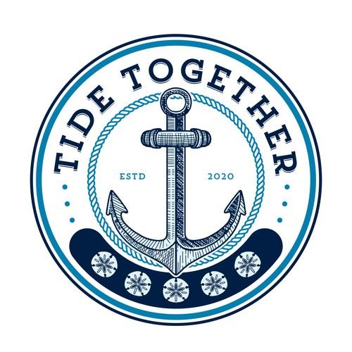 Nautical Logo Design for Tide Together