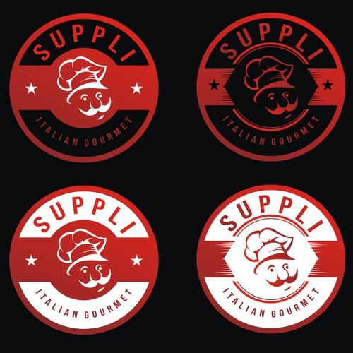 GUARANTEED: Supplì - Italian gourmet cucine logo.