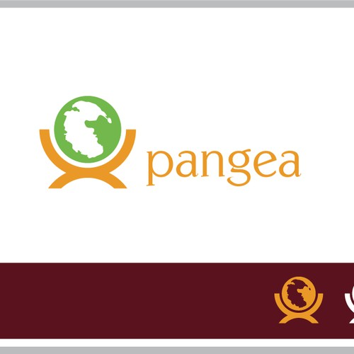 Clean logo concept for Pangea