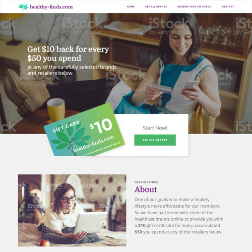 Responsive Web Design for Reward Company