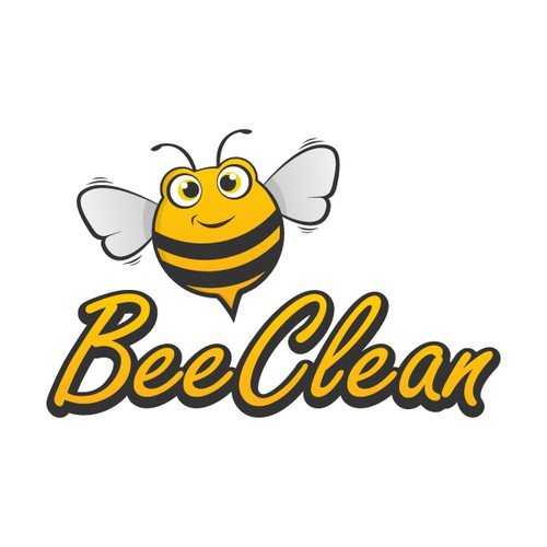 Create a simple, fun new logo for our BEE CLEAN company...