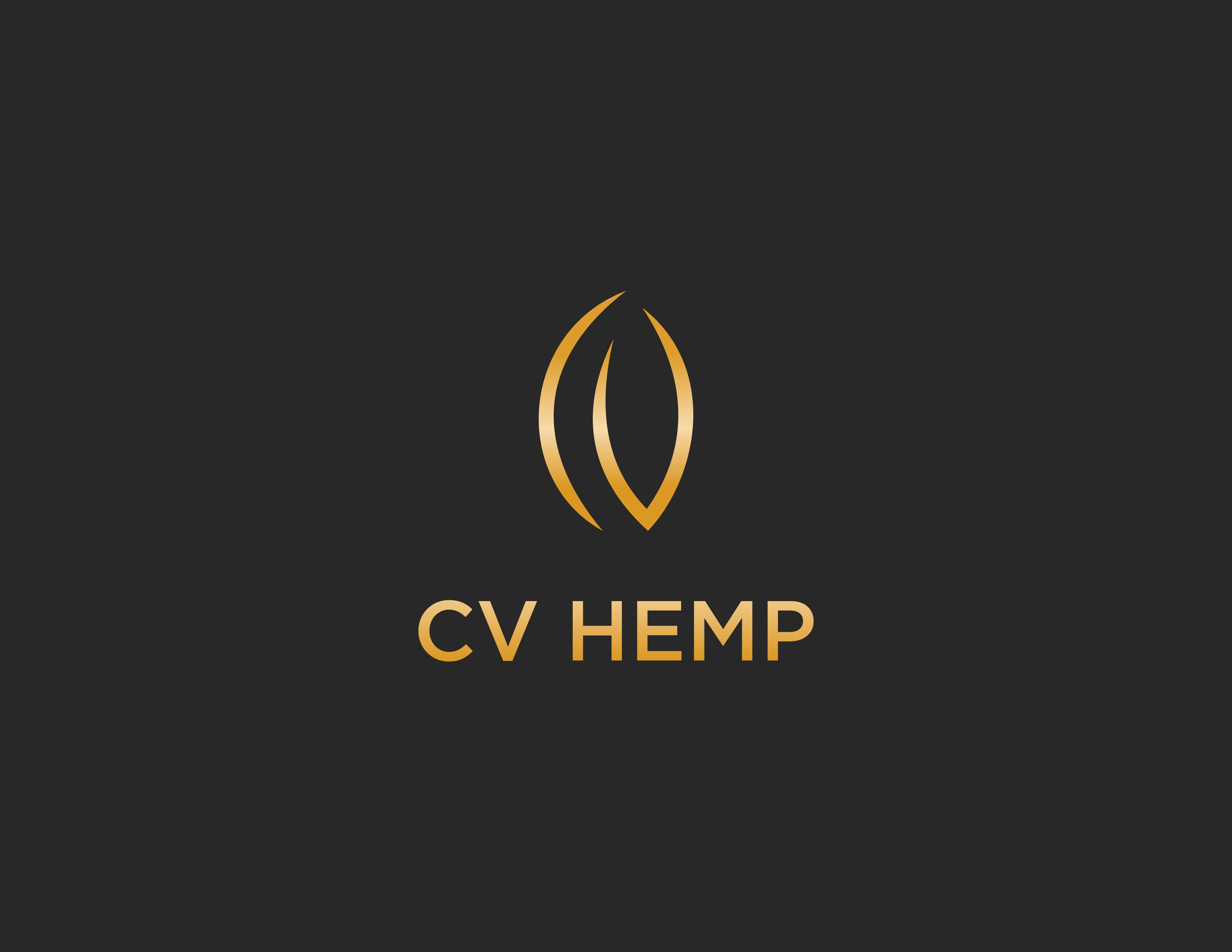 """Aromaland Welless """"CV Hemp"""" Logo Design"""