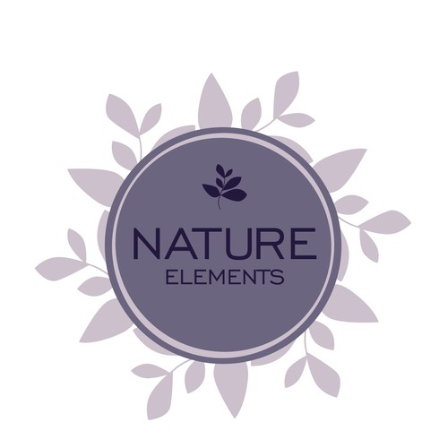 logo concept for nature elements