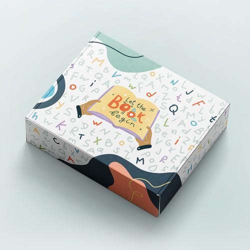 Subscription box for children's books