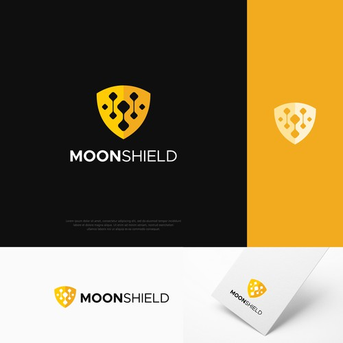 Logo concept for MoonShield