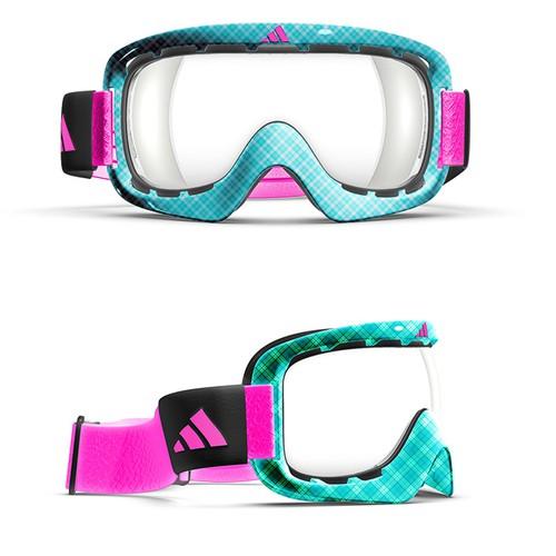 Vibrant goggle design