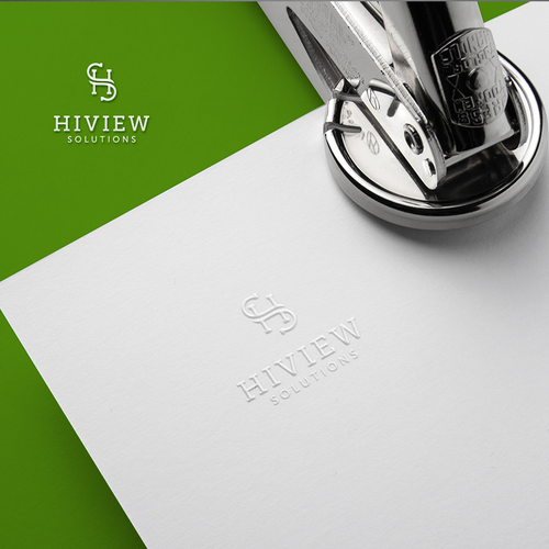 Logo proposal for HiView Solutions