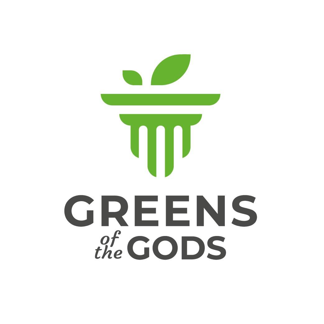 Greens of the Gods - Microgreen Farm Logo