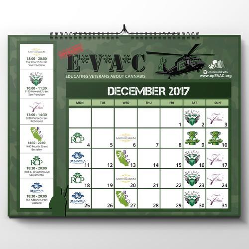 EVAC Calendar