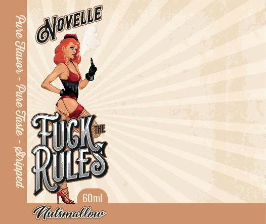 Wir brauchen ein geiles Design für unsere neue Aromaserie Fuck the Rules - Novelle