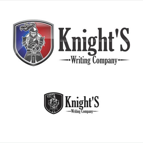 Create a very distinctive and recognizable brand logo for Knight's Writing Company.