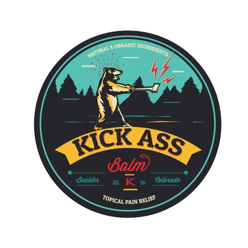 Kick Ass Balm logo