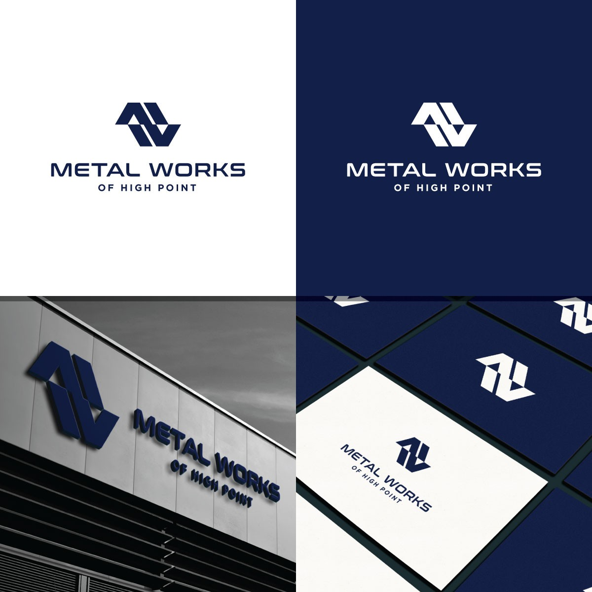 Eye Catching new logo for Metal Works of High Point