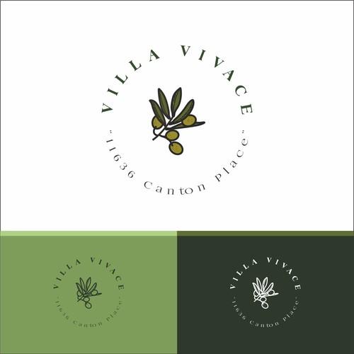 Olive logo design