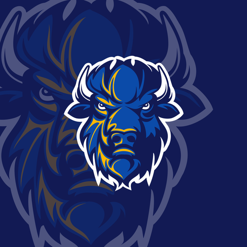 """Design Bison Mascot for """"The Herd"""" at our College Wayne Community College"""