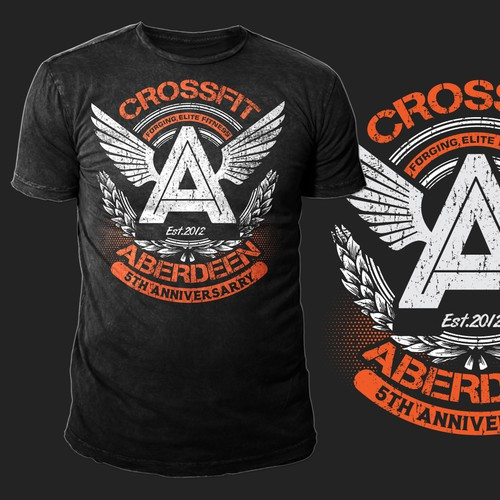 CrossFit Aberdeen Logo Design