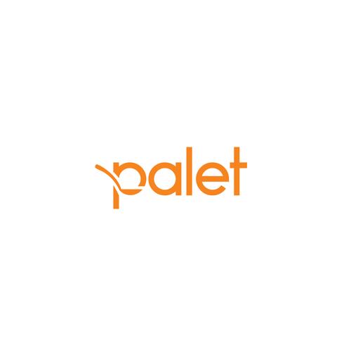 Winning Logo design for palet