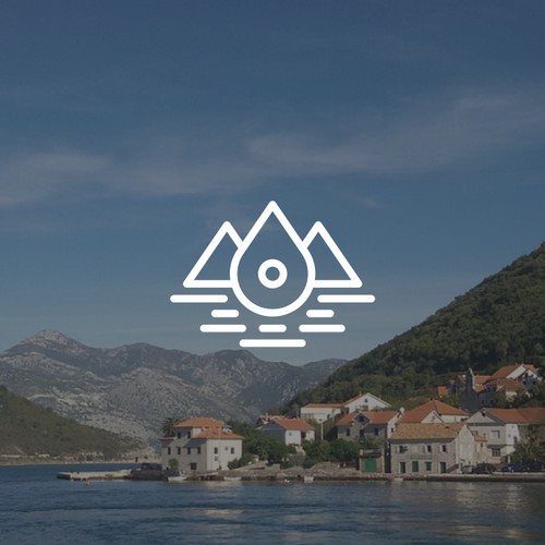 Logo for a Real Estate & Travel Agency