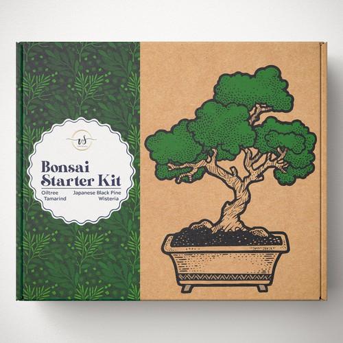 bonsai starter kit box