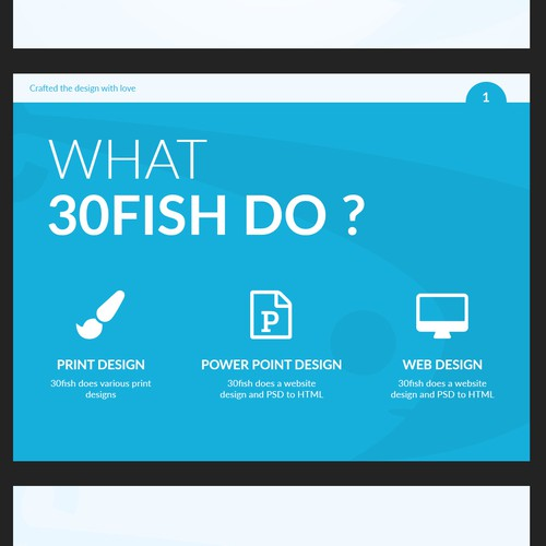 30fish Branding Power Point