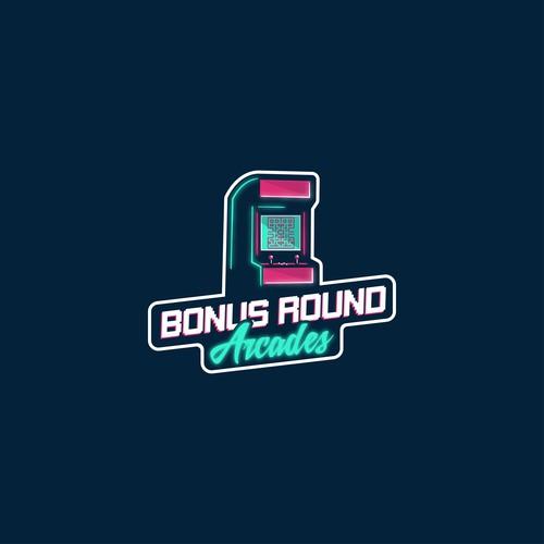 Modern and fun logo for arcade units seller