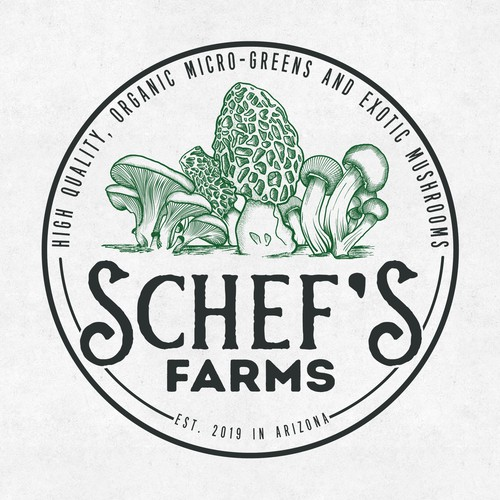 Logo for Schef's Farms
