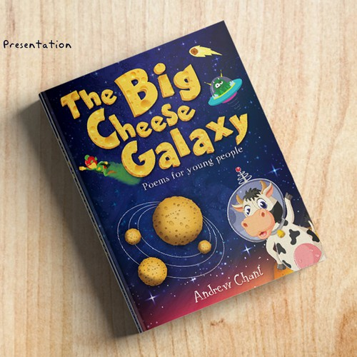 The Big Cheese Galaxy Book Cover Design