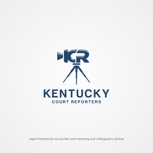 Logo concept for Kentucky Court Reporters
