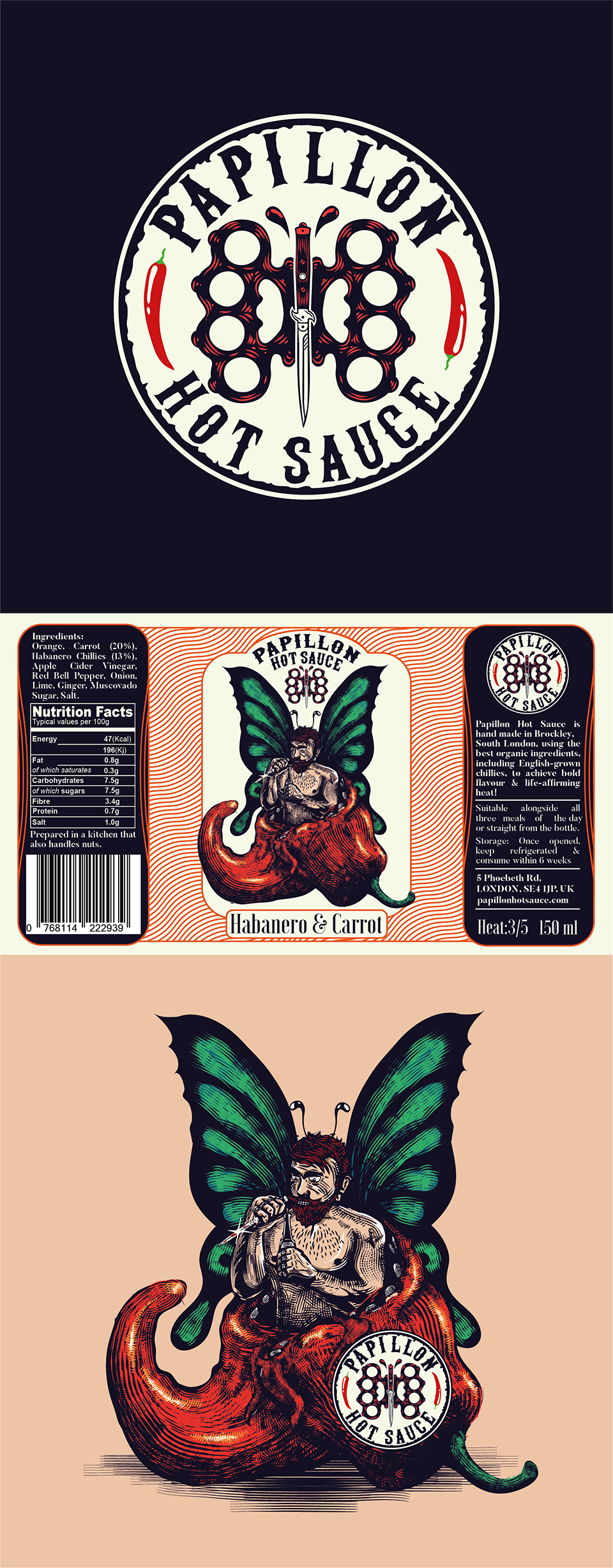 Papillon Killa Hot Sauce