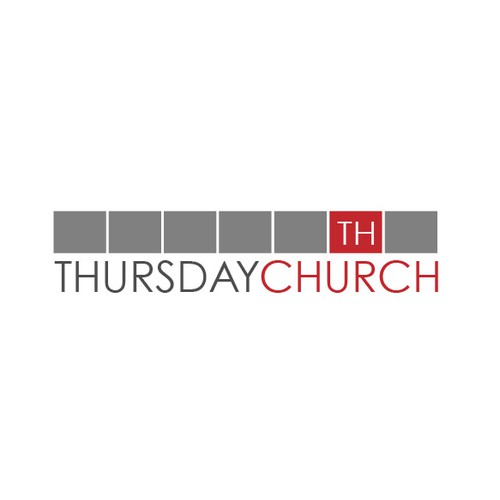 Clever logo for Thursday Church