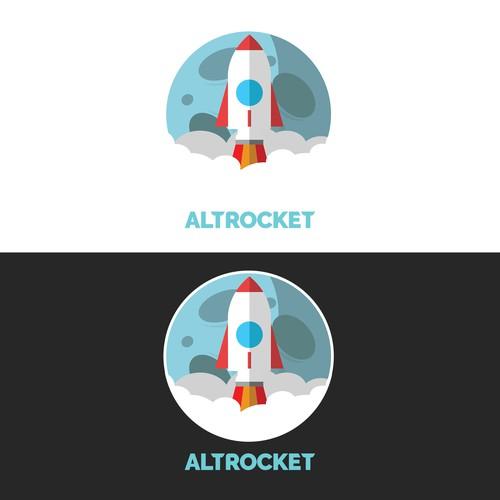 Logo concept for AltRocket