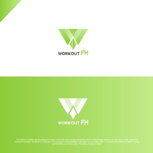 """Letter """"W"""" Modern logo"""