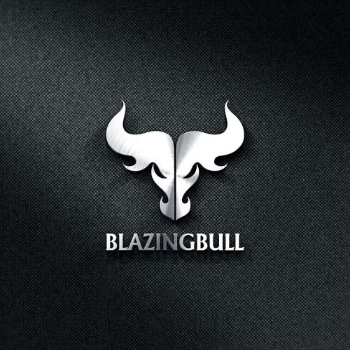 Bold logo for Blazing Bull company