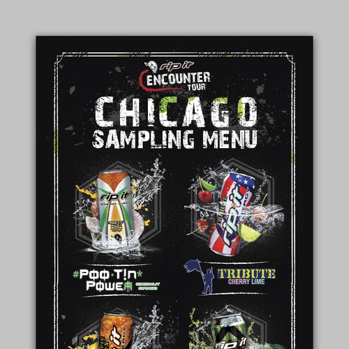 Rip It Energy Drink Menu