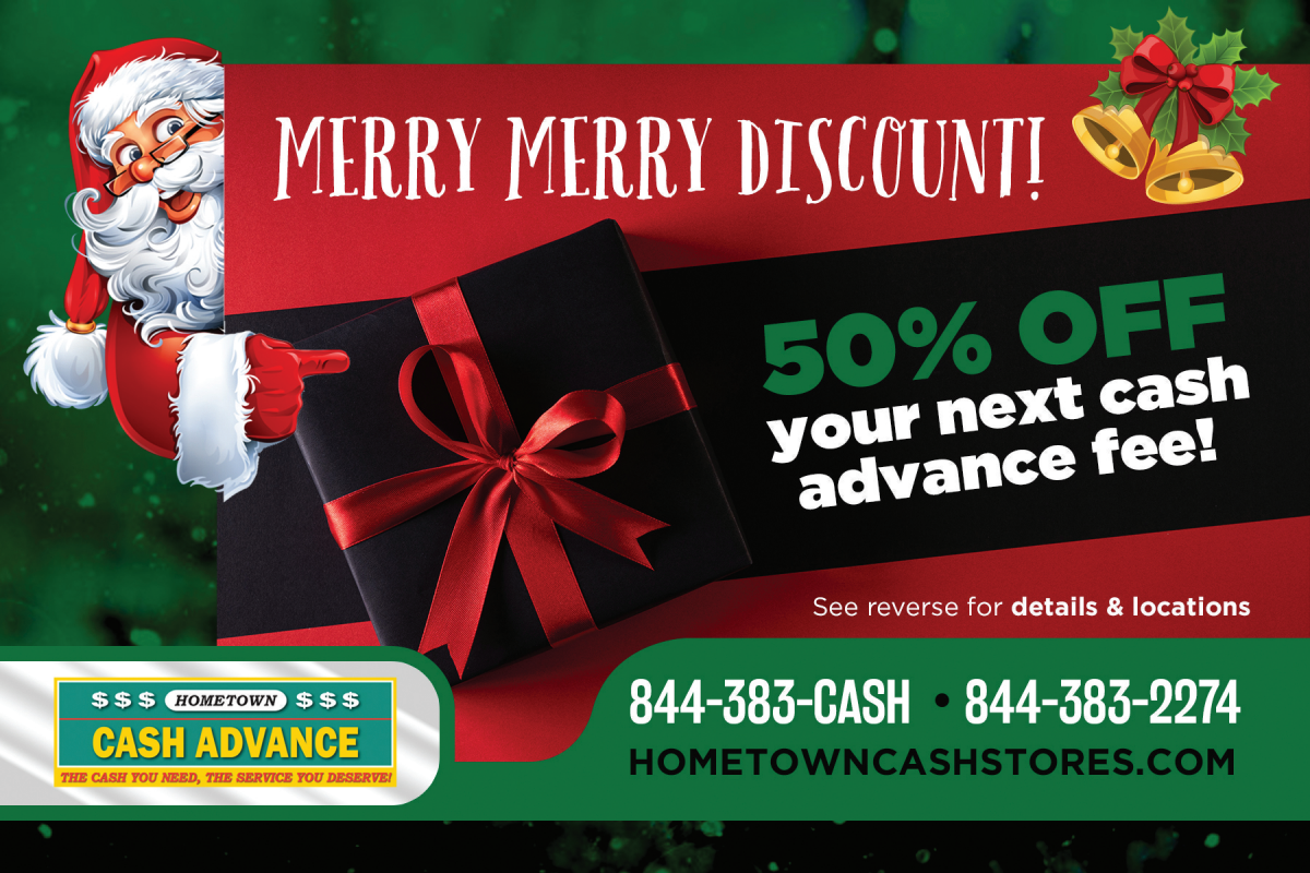 Direct Mailer for Holiday_hometown