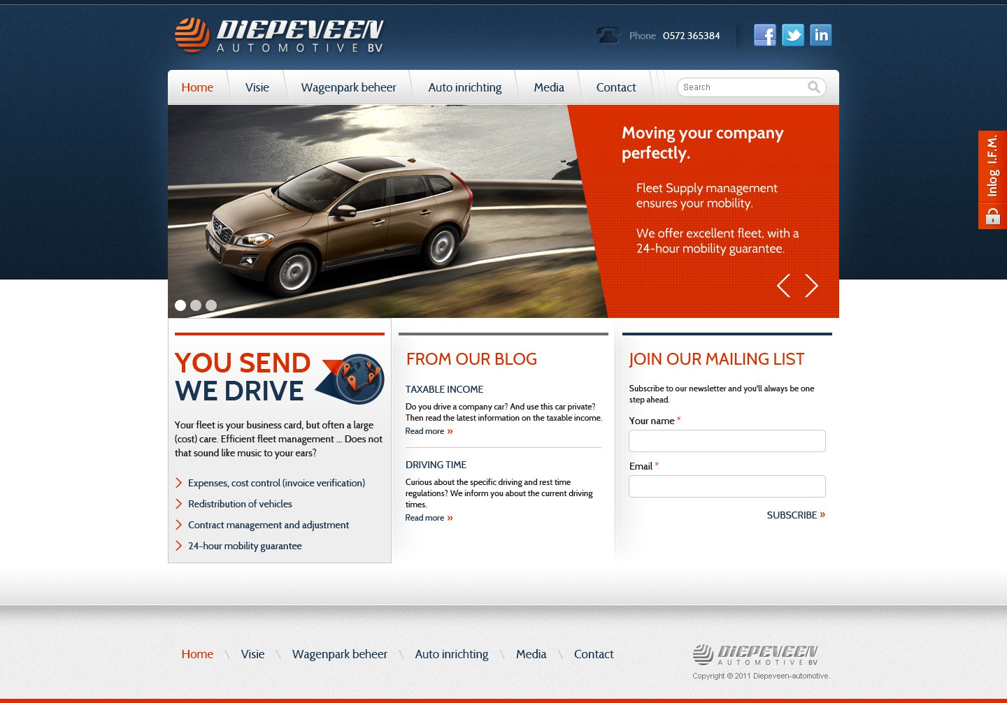 Help proven web concepts with a new website design