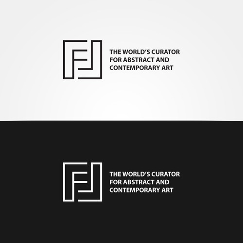 Clear logo for art online shop