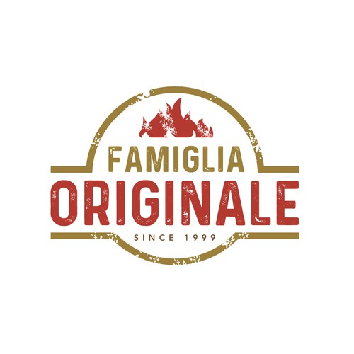 Logo concept for pizza Restaurant