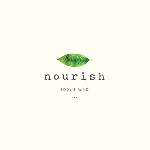 hip and natural logo for an upcoming food start-up