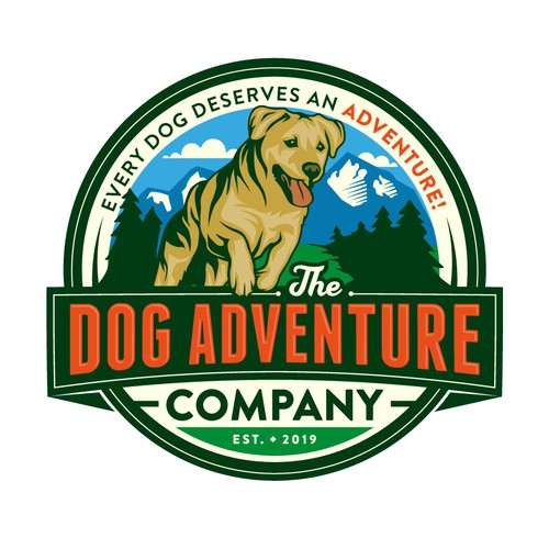 Logo for private off-leash dog adventure park