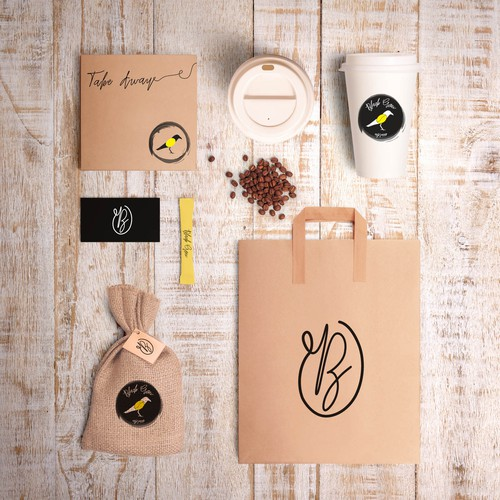 Branding for Black Crow coffee