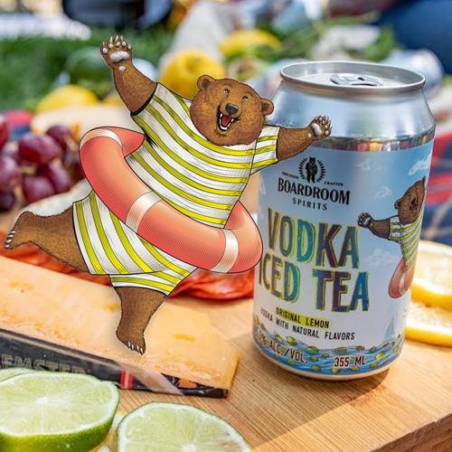 Canned Vodka Iced Tea now gets underway!