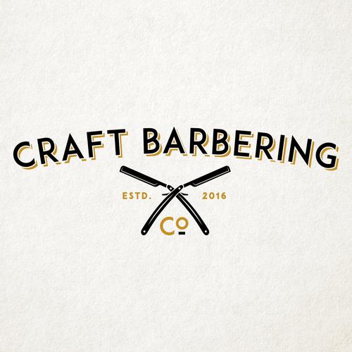 Retro Logo Design for Bareber Shop