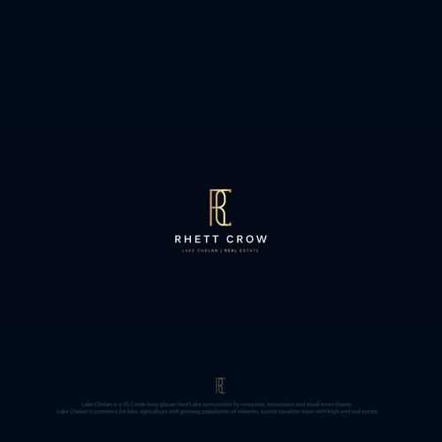 Luxurious logo for Real Estate Broker (CR)
