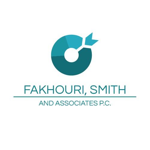 Creative logo for accounting company