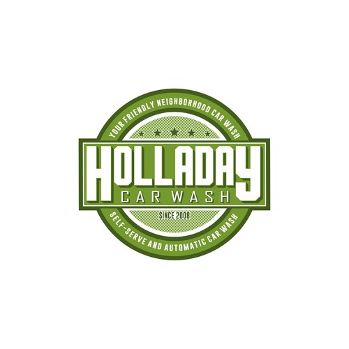 logo concept for holladay